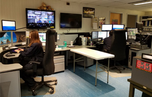 a view of Staunton's emergency communications center