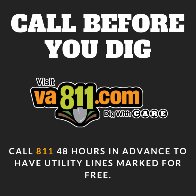 VA 811 call before you dig
