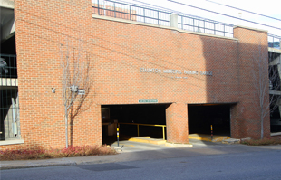 johnson street parking garage entrance