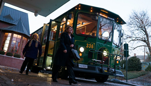 staunton downtown trolley