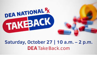 drug take back day Oct 27