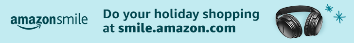 AmazonSmile donates to The Talking Book Center Inc when you do your holiday shoping at smile.amazon.com/ch/54-1537535
