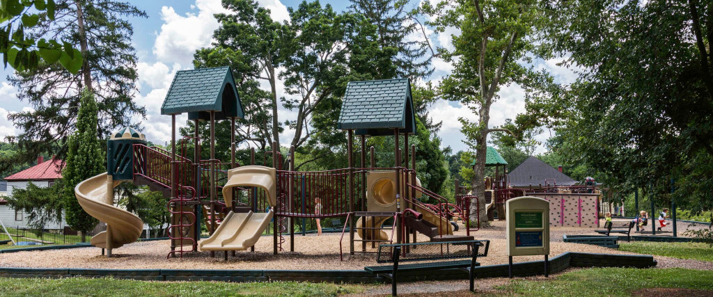 Upper playground at Gypsy Hill Park