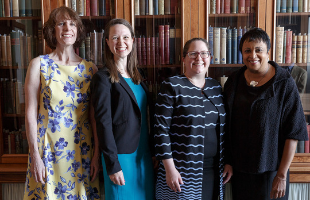 the talking book center and staunton public library employees receive a national award at the Library of Congress