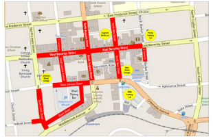 Street Closures QCMM