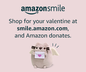 Shop for your valentine at smile.amazon.com and Amazon donates.