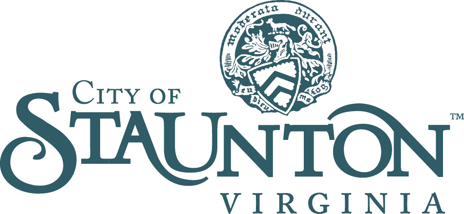 Staunton City logo with seal