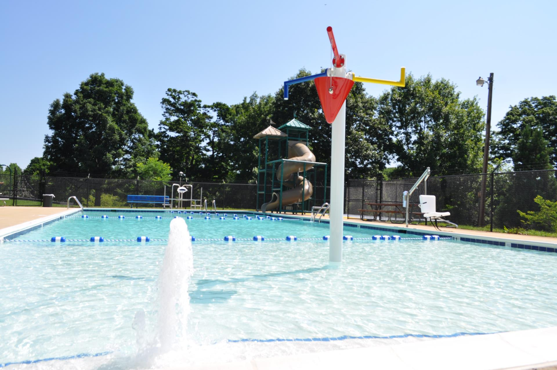 Montgomery Hall Park pool